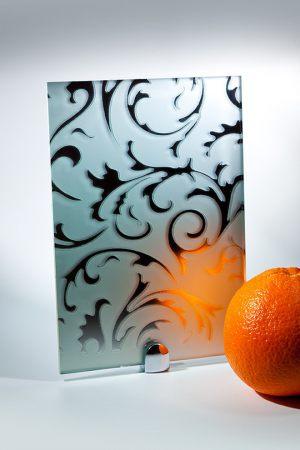 "Зеркало ""Барокко"" матовое серебро"