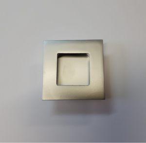 Ручка квадратная Серебро матовое