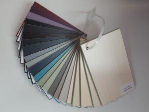 Образцы стандартных цветов. Эмаль