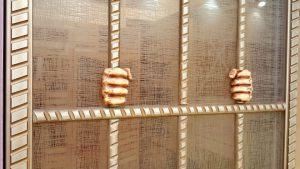 Алюминиевый профиль для шкафа купе эмаль с декоративной накладкой