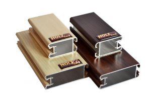 """Ламинированный профиль """"HOLZ"""" для шкафа купе и межкомнатной перегородки"""