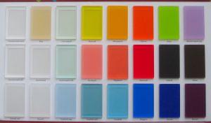 Акриловое стекло матовое для радиусных шкафов-купе и радиусных межкомнатных перегородок