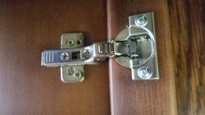 Петля для распашной двери с доводчиком