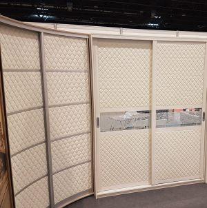 Вставки в двери с 3D эко кожей