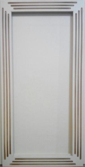 Рамочный фасад с фрезеровкой 2 категории сложности