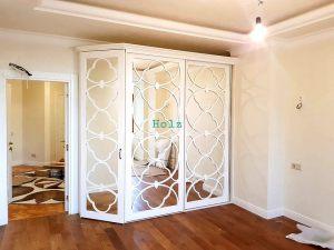 Двери с фигурной филенкой, эмаль